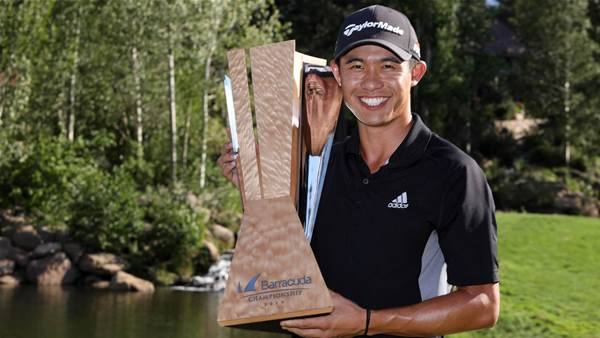 Morikawa graduates to PGA Tour winner