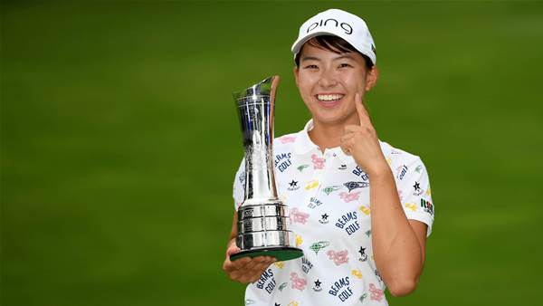 Shibuno wins Women's British Open on debut