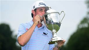 Poston claims maiden PGA Tour victory