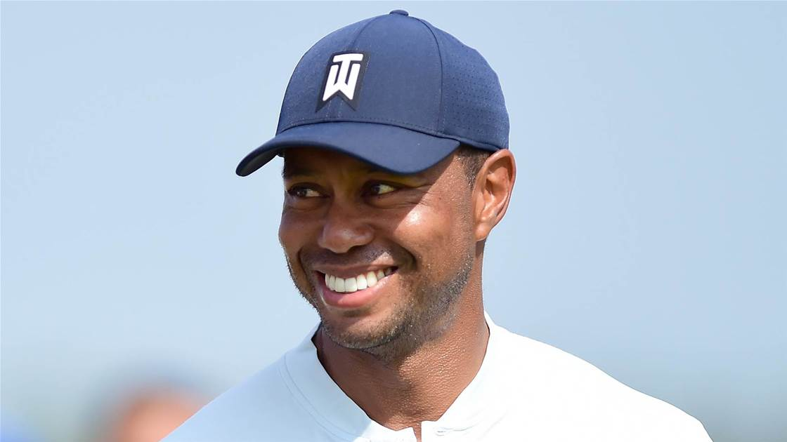 Woods ready to play in BMW Championship