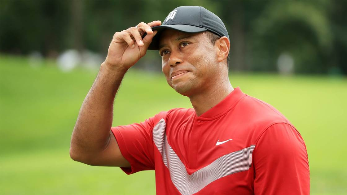 Presidents Cup: Tiger Woods' final top-eight qualifiers
