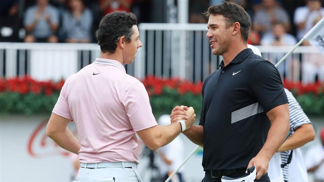 McIlroy & Koepka to resume No.1 rivalry