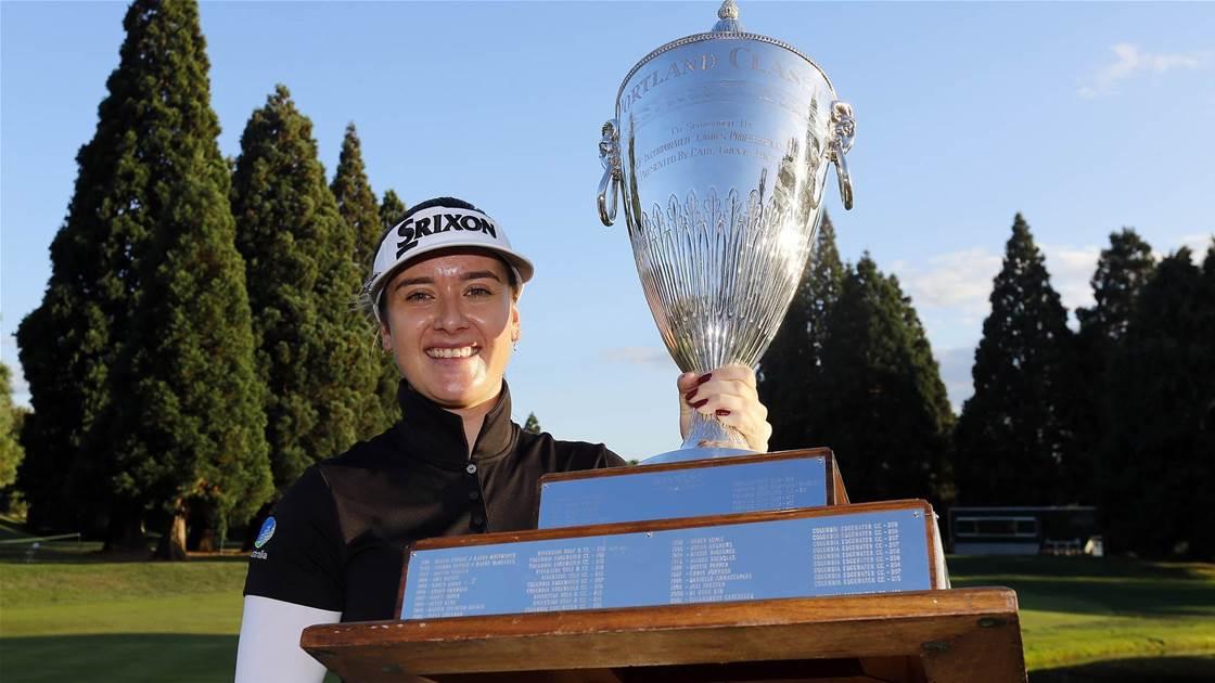 Hannah Green wins again on LPGA Tour