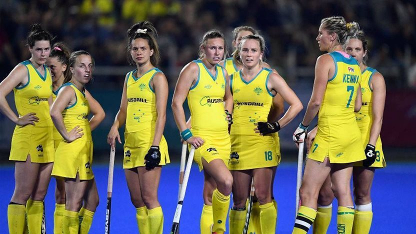 Stuttering Hockeyroos go down to Kiwis