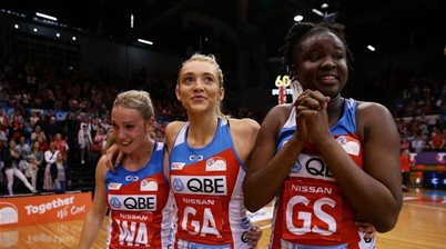 Swifts surge into grand final after crushing wayward Vixens