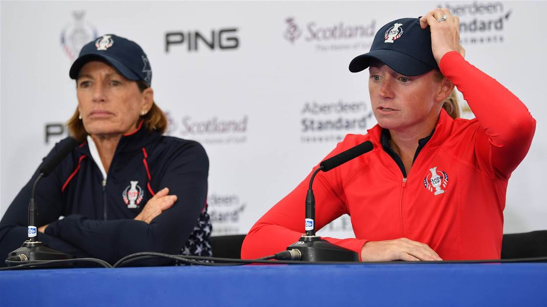 Lewis out of U.S. Solheim Cup team