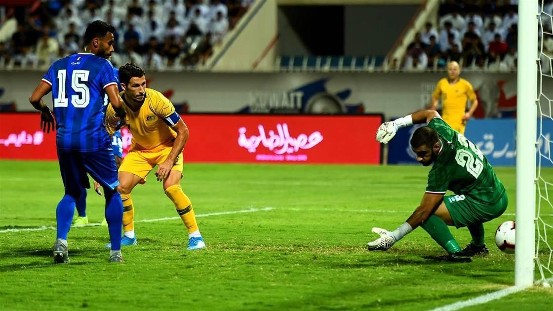 Socceroos blitz Kuwait WC qualifying test