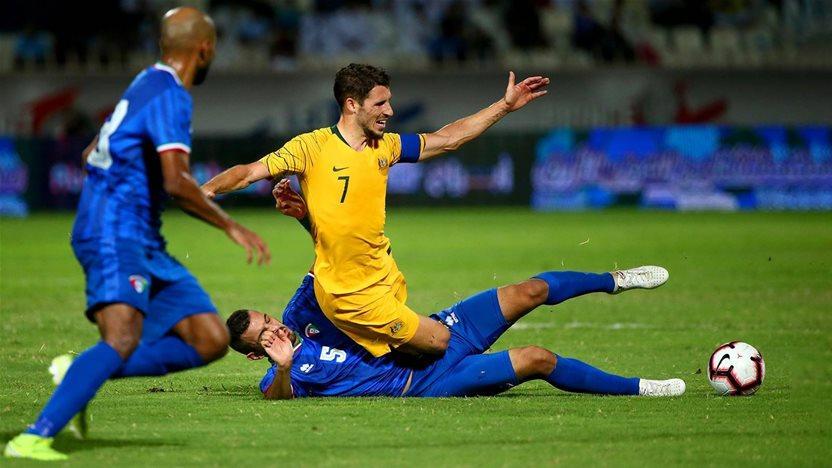Australia v Kuwait WC qualifier snapshot