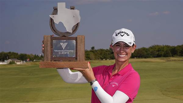 LPGA: Rookie Knight claims rare victory