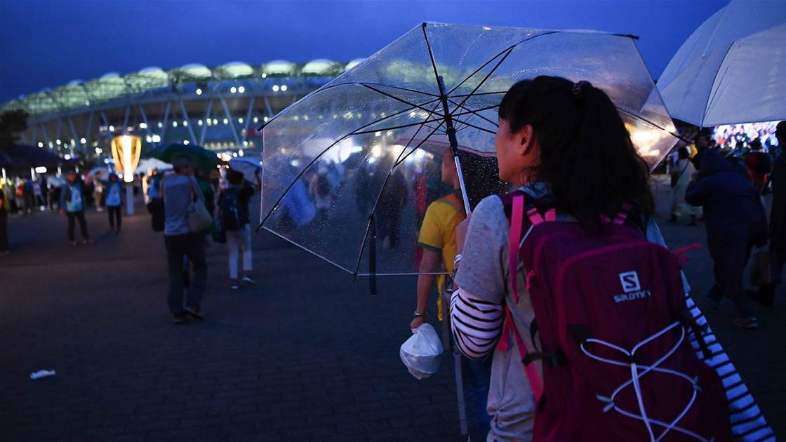 Typhoon Blows Rugby World Cup Off Course