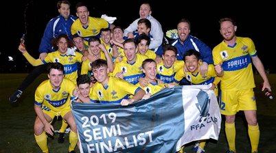 Mariners, Brisbane Strikers host cup semis