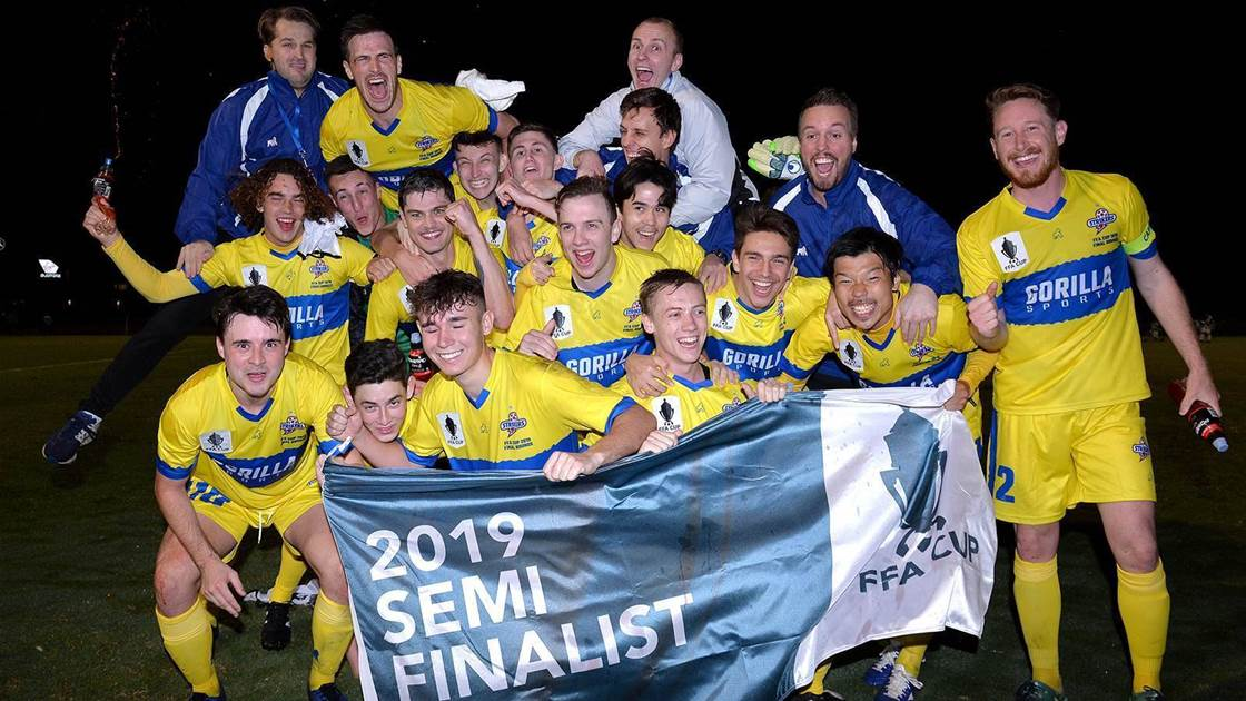 Mariners, Brisbane Strikers host cup semis
