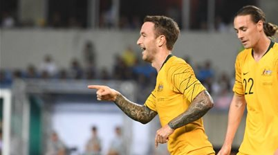 World Cup journey just starting for Roos