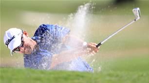 Aussie Percy three shots back at PGA National
