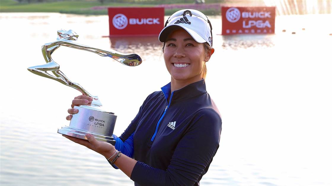 Tournament record earns Kang Shanghai title