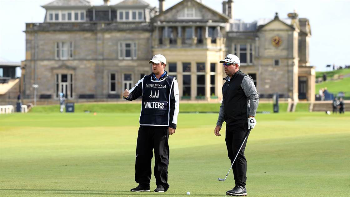 Walters shoots 63 to lead Dunhill Links