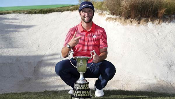 Rahm solidly defends Spanish Open title