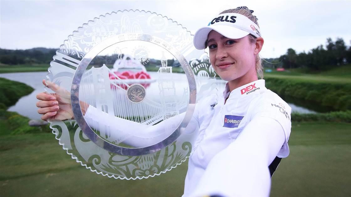 Korda edges Minjee Lee in Taiwan playoff