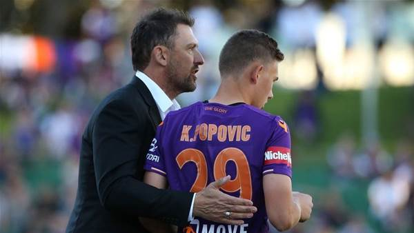 Popovic relishes son's A-League feat