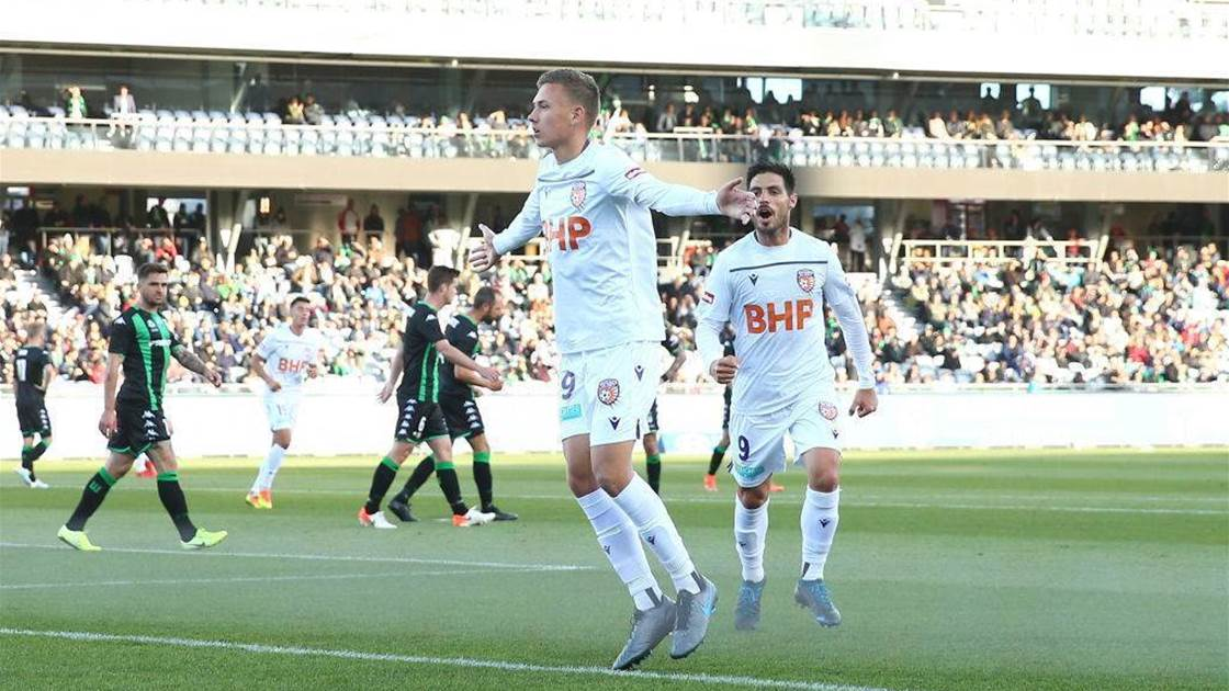 Western United, Glory draw in A-League