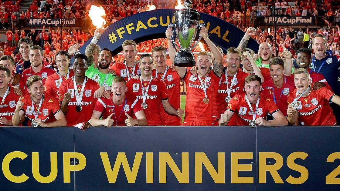 Adelaide thrash Melbourne City in FFA Cup final