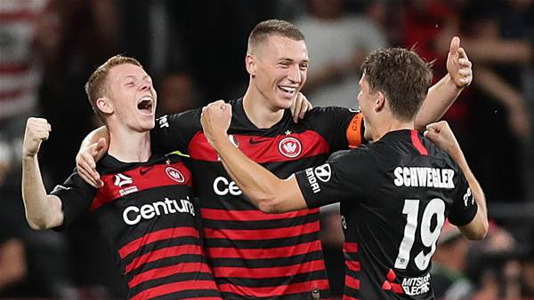 Wanderers beat Sydney in A-League derby