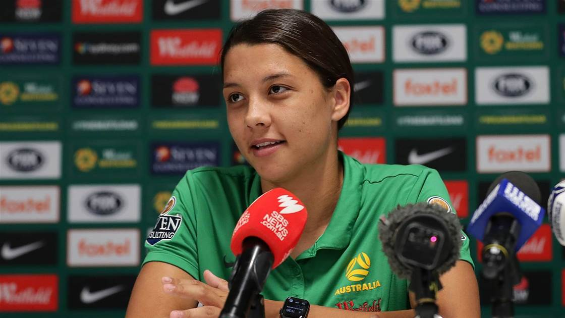 Kerr: Matildas must be fired up over World Cup failure