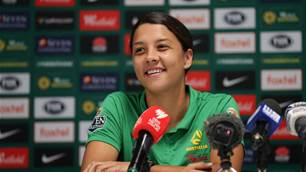 Kerr 'loves' Melbourne and Matildas new home