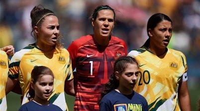 Kerr brace leads Matildas past Chile