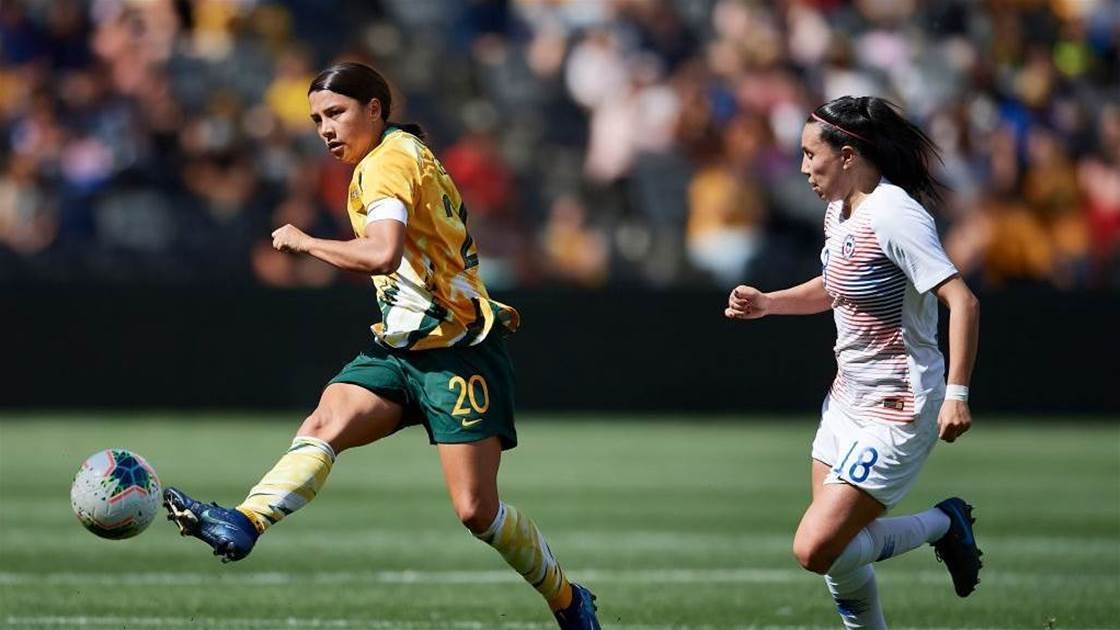 40 in 40 Kerr questions Matildas' ability to 'control the game'
