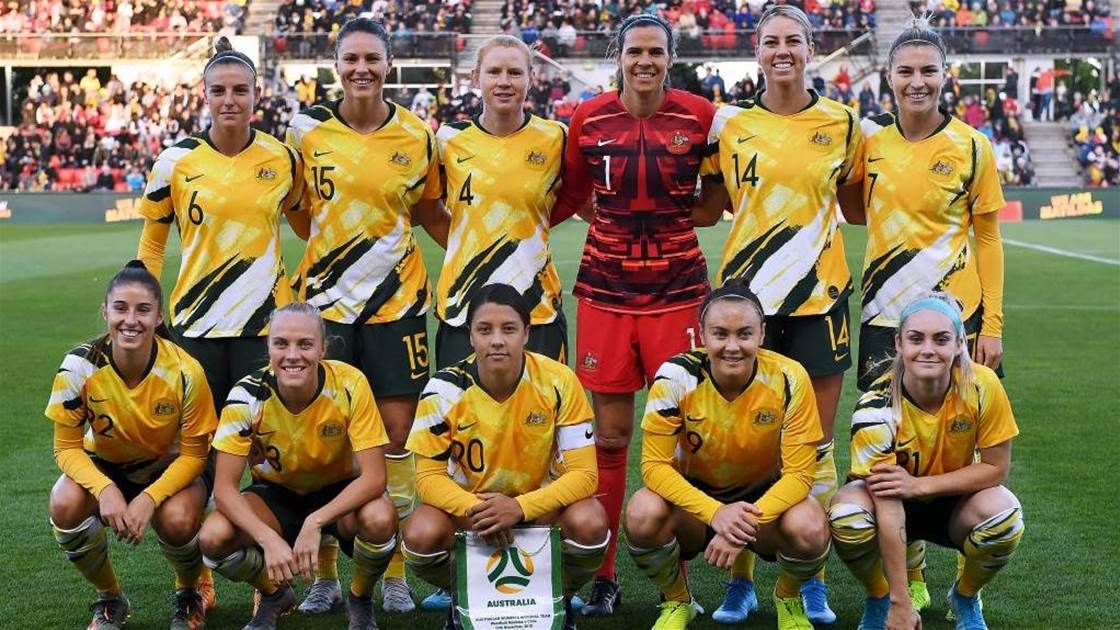 Matildas squad named for Olympic qualifiers