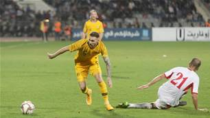 Winger Boyle wants to lock in Socceroos starting role