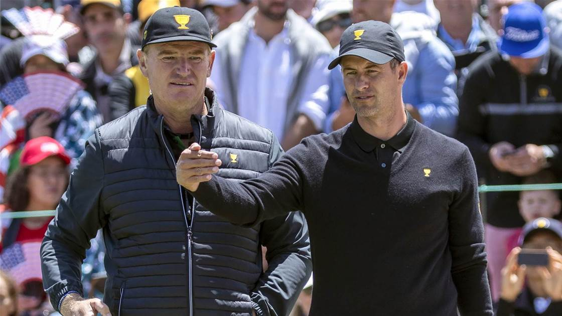 Presidents Cup is why Aussies are winning: Scott