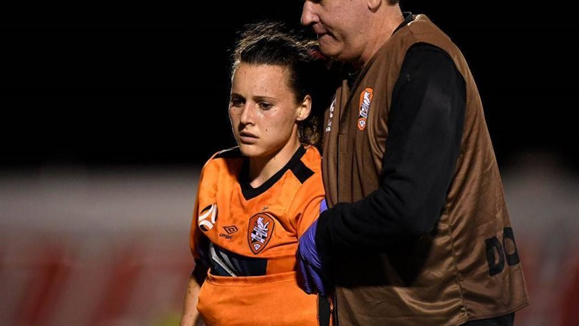 Raso escapes freak injury with 'no structural damage'
