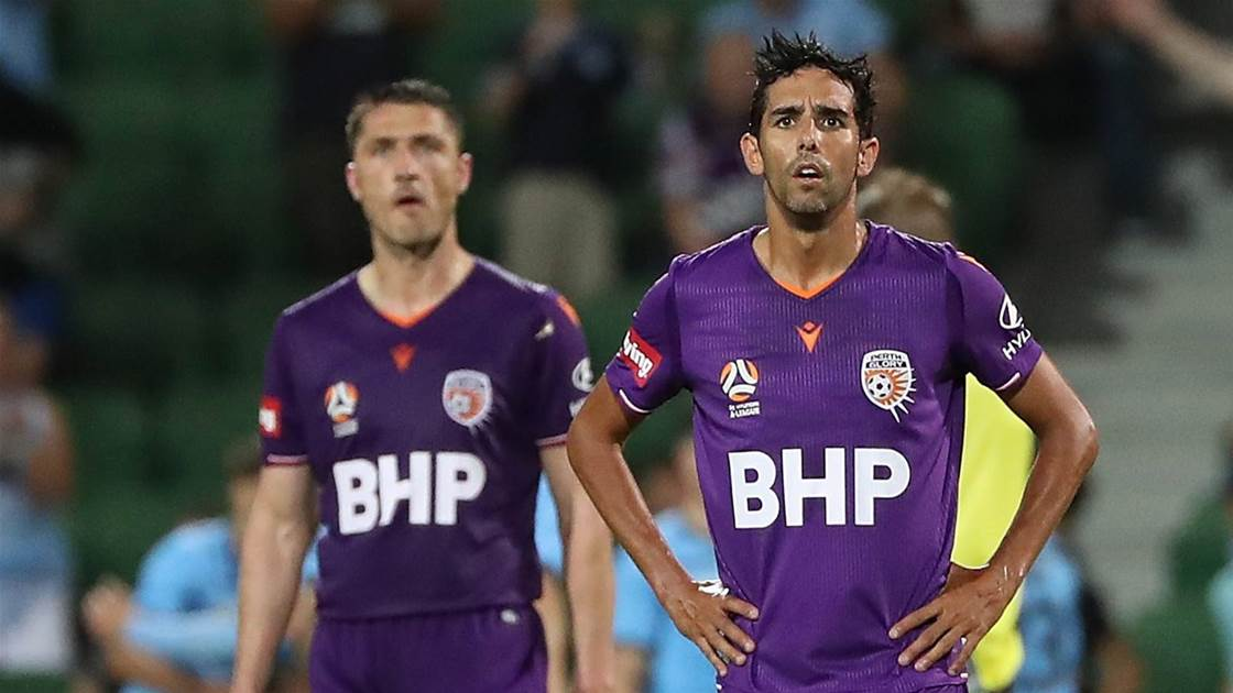 Glory losing sight of top two