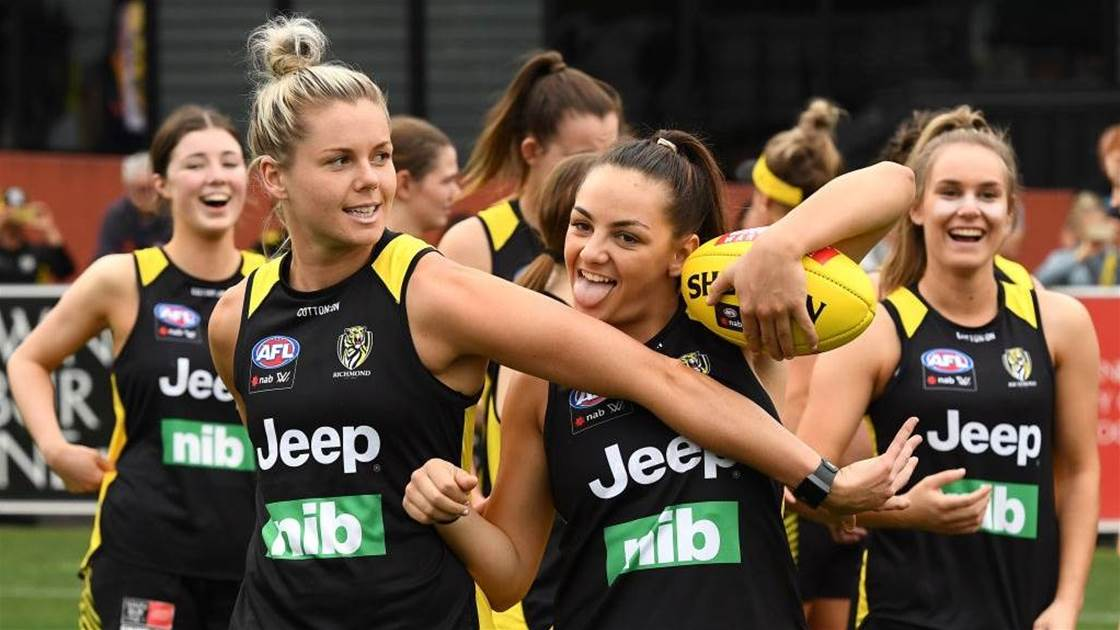 'Tears of pride': Richmond Tigers AFLW Preview
