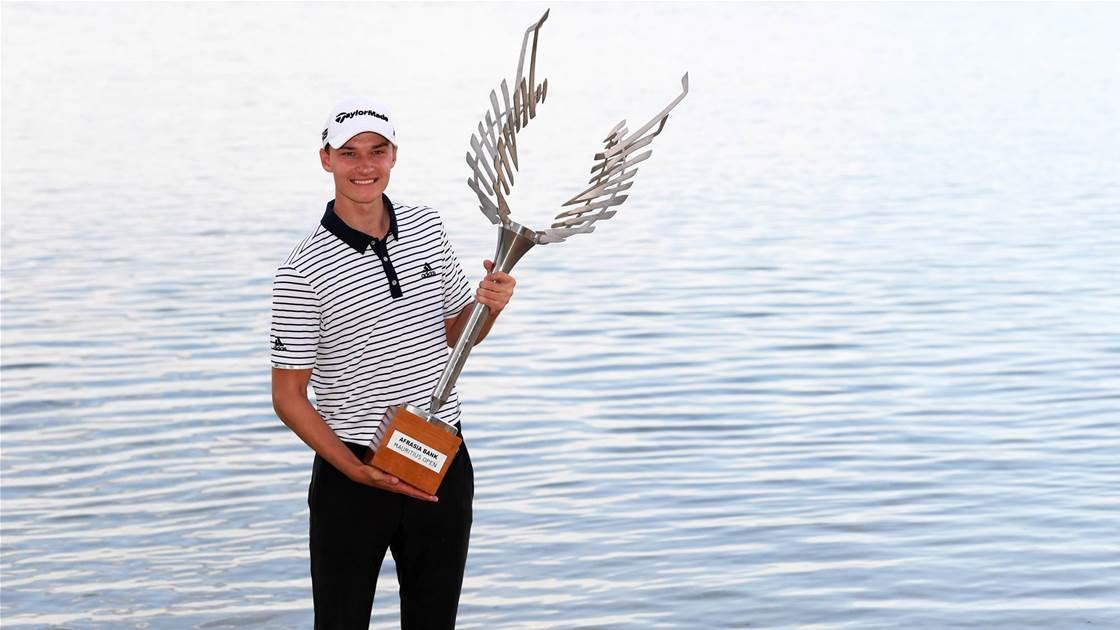 Teen secures maiden European Tour win