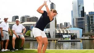 Barty wins golf club championship