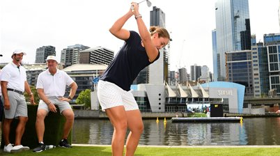 Barty wins golf club championship