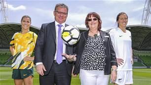 Nikou: Legacy potential boosting Aus/NZ Women's World Cup bid