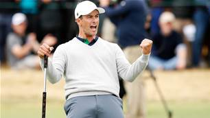 Internationals' morning glory extends Presidents Cup lead