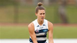 New AFLW rookie improving 'midfield craft' like a Cat on a hot tin roof