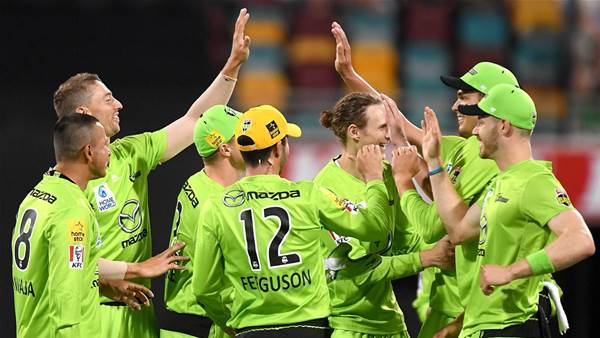 Sydney Thunder Leave Brisbane Heat out in the Cold