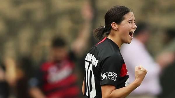 Prodigious Cooney-Cross insists Future Matildas, NTC 'are a good path' to stardom