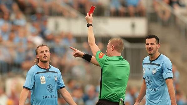 Sydney FC to appeal Grant red-card ban
