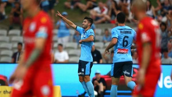 Sydney FC vs Adelaide United Player Ratings