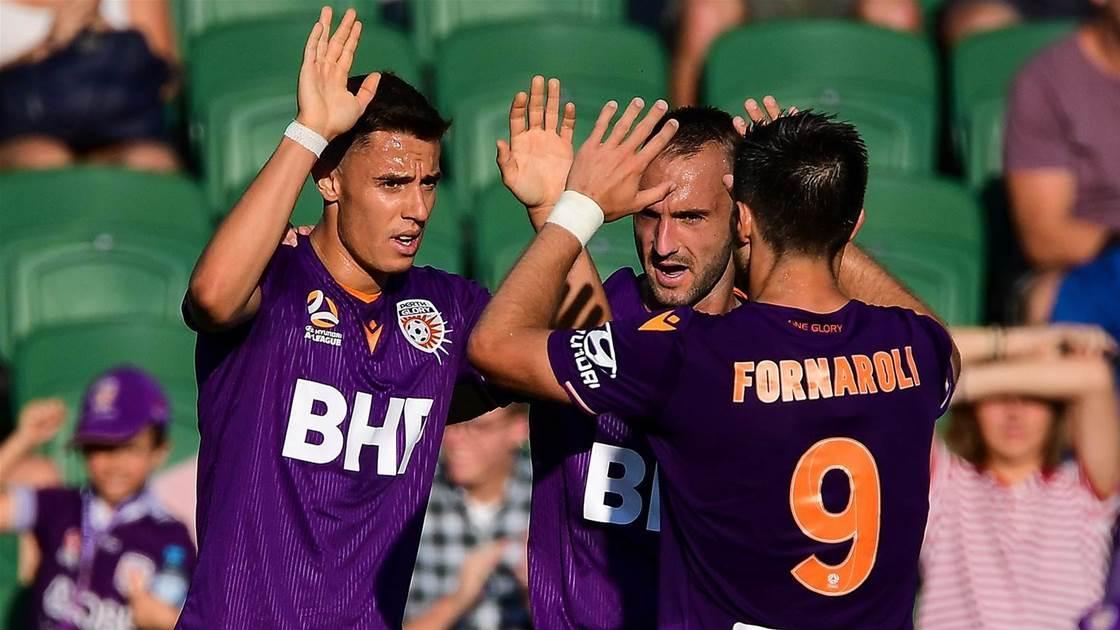 Fornaroli scores, Glory beat Adelaide