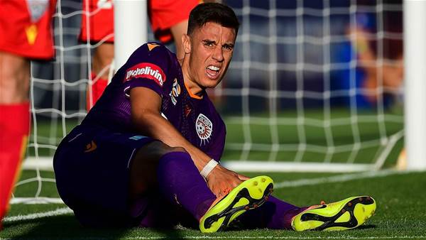 Glory's Ikonomidis cleared of knee injury