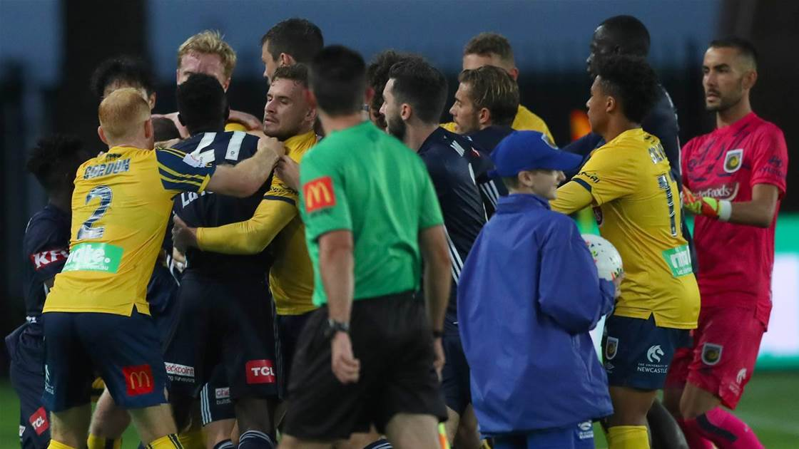 Central Coast Mariners vs Melbourne Victory: Player Ratings