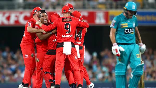 Melbourne Renegades benefit from Brisbane Heat batting implosion